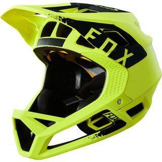 Fox Proframe Helmet Mink, yellow/black - Fahrradhelm