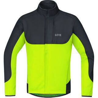 Gore Wear C5 Gore Windstopper Thermo Trail Jacke, neon yellow/black - Radjacke