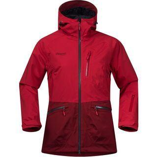 Bergans Myrkdalen Insulated Lady Jacket, red/burgundy - Skijacke