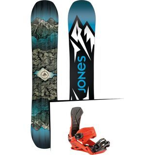 Set: Jones Mountain Twin Wide 2019 + Nitro Team dawn patrol