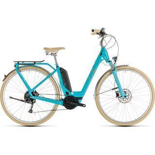 Cube Elly Ride Hybrid 400 2019, aqua´n´orange - E-Bike