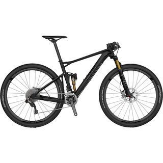 BMC Fourstroke 01 XTR Di2 2017, stealth black - Mountainbike