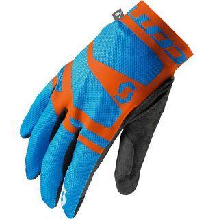 Scott Endurance LF Glove, blue/orange - Fahrradhandschuhe