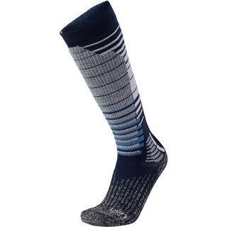 UYN Ski-/Snowboard Socks dark blue/grey melange