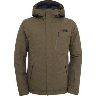 The North Face Mens Descendit Jacket, caper berry green print - Skijacke