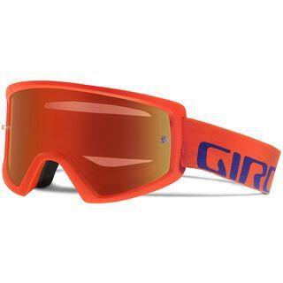 Giro Blok MTB inkl. Wechselscheibe, vermillion/purple/Lens: ml red, clear - MX Brille