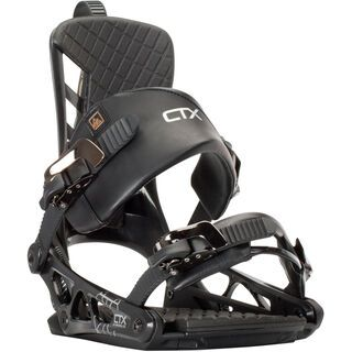 K2 Cinch CTX 2016, black - Snowboardbindung