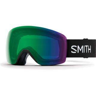 Smith Skyline, black/Lens: chromapop everyday green mirror - Skibrille