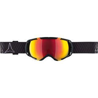 Atomic REVEL2 M, black/Lens: mid red - Skibrille