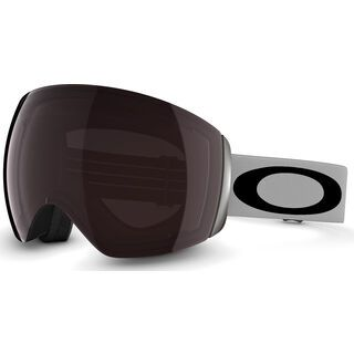 Oakley Flight Deck, Light Grey Black/Prizm Black Iridium - Skibrille