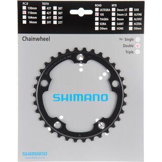 Shimano Kettenblätter 105 FC-5750 - 2x10 Compact, schwarz