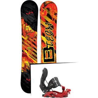 Set: Lib Tech Sk8 Banana 2017 + Flow Nexus Hybrid (1513169S)