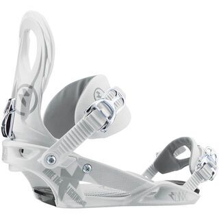 Nitro Raiden Lynx 2013, White - Snowboardbindung