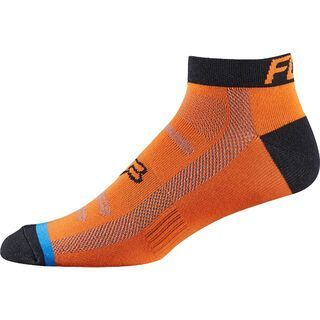 Fox Race Sock, flow orange - Radsocken