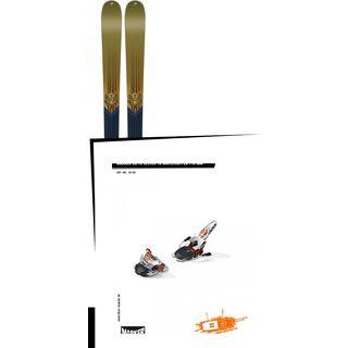 Set: K2 SKI Sight 2017 + Marker Jester 16 (95108S)