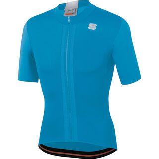 Sportful Strike Short Sleeve Jersey, blue/white - Radtrikot