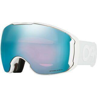 Oakley Airbrake XL Prizm + WS, white/Lens: sapphire iridium - Skibrille