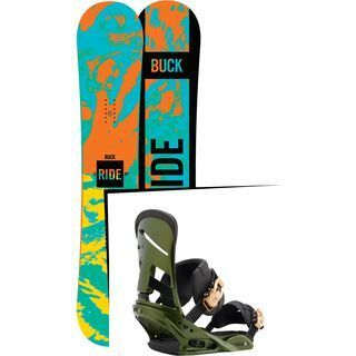 Set: Ride Buck Wild 2016 + Burton Mission (1712882S)