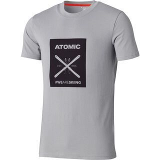 Atomic Alps Graphic T-Shirt, light grey - T-Shirt