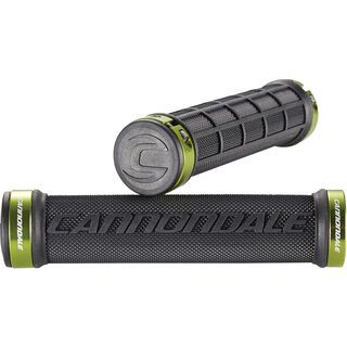 Cannondale DC Dual Lock-On Grips, black/green - Griffe