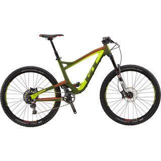 GT Sensor Carbon Pro SRAM 2018, green/yellow/red - Mountainbike