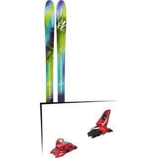 Set: K2 SKI FulLUVit 95Ti 2018 + Marker Squire 11 ID red