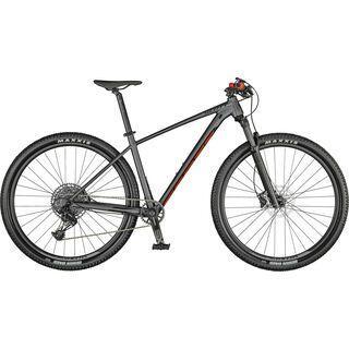 Scott Scale 970 matt dark grey/black/red 2021