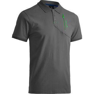 Cube Polo Shirt Classic, grey´n´green