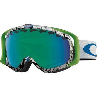 Oakley Crowbar Tanner Hall Signature, pillow trip/Lens: prizm jade iridium