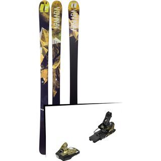 Set: Armada Invictus 89 Ti 2018 + Salomon STH2 WTR 16 gold/black