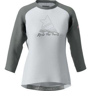 Zimtstern PureFlowz Shirt 3/4 Women's, grey/gun metal/blush - Radtrikot
