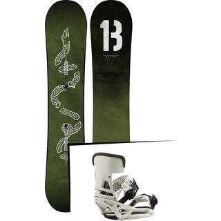 Set: Burton Descendant Wide 2019 + Burton Malavita EST vape cloud