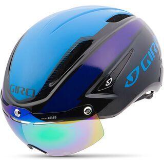 Giro Air Attack Shield, black/blue/purple - Fahrradhelm
