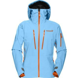 Norrona lofoten Gore-Tex Pro Jacket, ice blue - Skijacke
