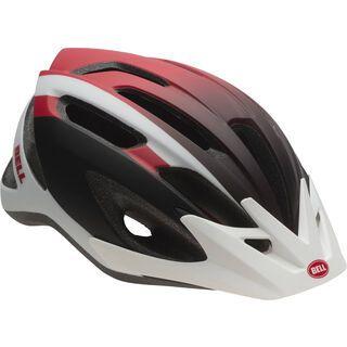 Bell Crest, white red black sting - Fahrradhelm