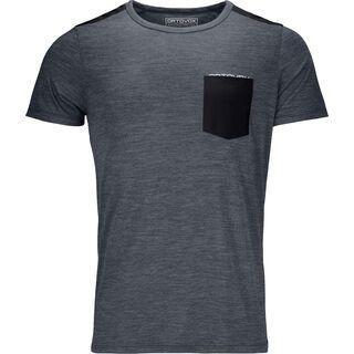 Ortovox 120 Cool Tec T-Shirt M, black steel blend - Funktionsshirt