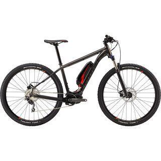 Cannondale Trail Neo 1 2018, anthracite/red/black - E-Bike