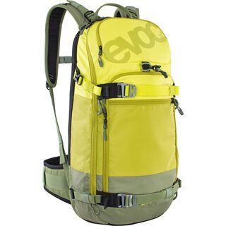 Evoc FR Pro 20l - M/L, sulphur/moss green - Rucksack