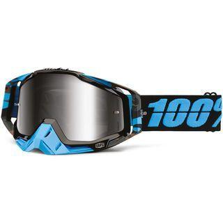 100% Racecraft inkl. Wechselscheibe, acid nam/Lens: mirror silver - MX Brille
