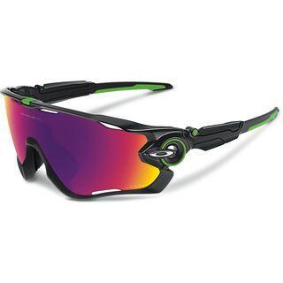 Oakley Jawbreaker Prizm Road Mark Cavendish Signature Series, polished black - Sportbrille