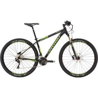 Cannondale Trail 1 29 2016, black/green - Mountainbike