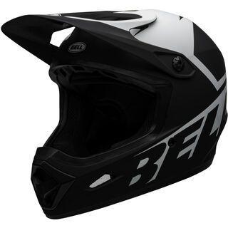 Bell Transfer, matte black/white - Fahrradhelm