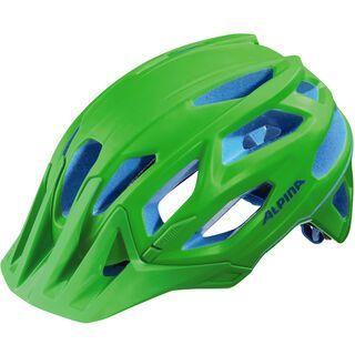 Alpina Garbanzo, neon green blue - Fahrradhelm