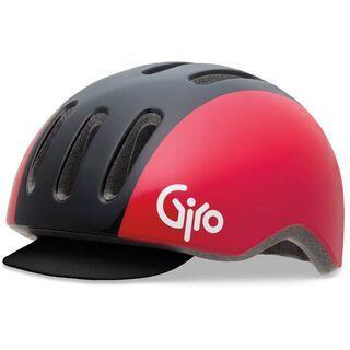 Giro Reverb, black red retro - Fahrradhelm