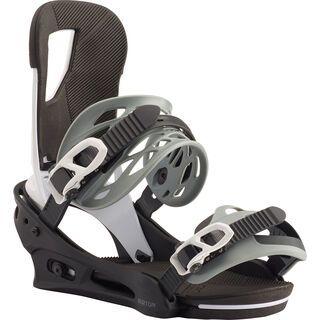 Burton Cartel 2020, black/white - Snowboardbindung