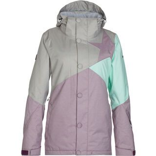 Zimtstern Zarin Snow Jacket, light grey twotone - Snowboardjacke