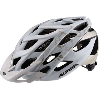 Alpina D-Alto, white prosecco - Fahrradhelm