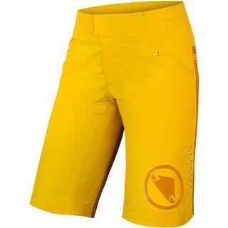 Endura Wms SingleTrack Lite Short - Standard Fit saffron yellow