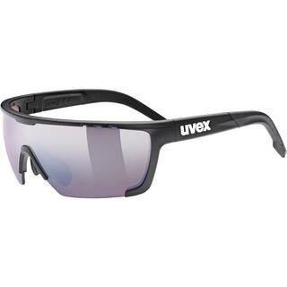 uvex sportstyle 707 cv, black mat/Lens: colorvision outdoor litemirror - Sportbrille