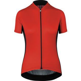 Assos UMA GT Short Sleeve Jersey, nationalred - Radtrikot